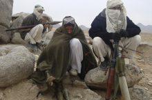 JAV: Rusija tiekia ginklus Talibanui