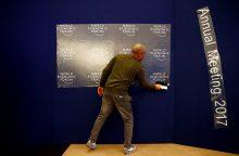 Davose prasideda Pasaulio ekonomikos forumas