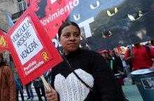 Pyksta, nes Venesuela nutrūko nuo pavadžio