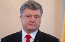 P. Porošenka procese liudija prieš savo pirmtaką V. Janukovyčių