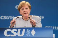 A. Merkel: Europa turi pasirūpinti savo likimu
