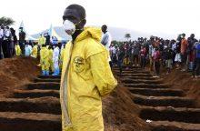 Siera Leonėje milžiniška purvo nuošliauža galėjo palaidoti 600 žmonių