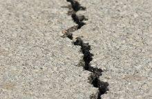 Čilę sukrėtė stiprus žemės drebėjimas