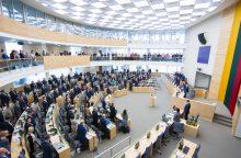 Seimo nariai trokšta dukart daugiau parlamentinių lėšų