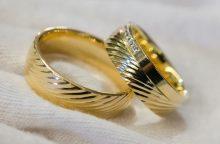 Kas Kaune sumainys aukso žiedus? <span style=color:red;>(jaunavedžių sąrašas)</span>