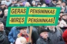 Lietuvos bankas: pensininkai skursta, o lovos ligoninėse – tuščios