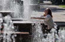 Šiluma kaulų nelaužo, bet karštis gali numarinti