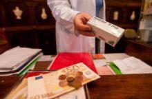 Nauji vaistai – tik turtingiesiems