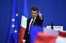 Ekspertai: E. Macronas būtų Lietuvai tinkamesnis prancūzų prezidentas
