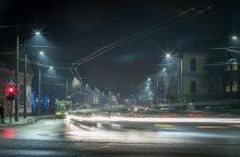 Nauji šviestuvai sužibo ir Birštono gatvėje