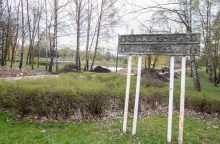 Kalniečių parke verda intensyvūs darbai