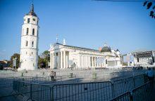 Vilnius laukia popiežiaus, pasiruošimas užtruks iki ryto