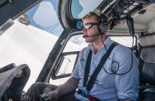 Naujojoje Zelandijoje sraigtasparnis sudužo... dėl kelnių