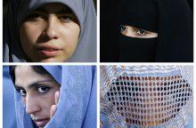 JT: Prancūzijos draudimas dėvėti burkas pažeidžia žmogaus teises
