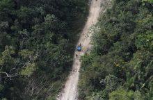 Lietuvos atkūrimo šimtmečio proga dviračiu pervažiavo džiungles