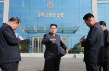 JAV ekspertai: Šiaurės Korėja statosi naują povandeninį laivą