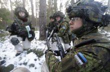 Estijoje vengiantiems karinės tarnybos gresia teisės vairuoti sustabdymas