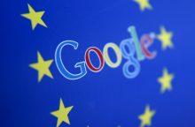 "EK skyrė ""Google"" rekordinę 2,4 mlrd. eurų baudą"