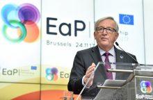 EK vadovas: Astravo AE rūpi visai Europai