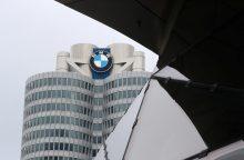 Vokietijos policija BMW būstinėje atliko kratas