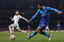 """Europos lygos aštuntfinalio burtai: """"Arsenal"""" susitiks su """"AC Milan"""""""