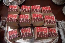 """""""McDonald's"""" prarado teises į """"Big Mac"""" prekės ženklą ES"""