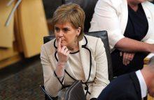 EK pirmininkas susitiks su Škotijos vyriausybės vadove