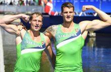 S. Ritteris ir M. Griškonis Europos čempionate užėmė septintąją vietą