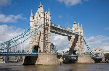 Londone iki Naujųjų metų uždaromas Tauerio tiltas