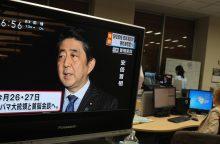 Sh. Abe taps pirmuoju Perl Harbore apsilankiusiu Japonijos premjeru