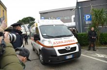 Per autobuso avariją Italijoje žuvo mažiausiai septyni žmonės