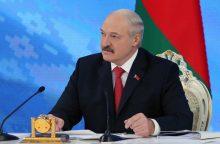 ES dar metams pratęsė sankcijas Baltarusijai