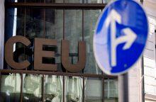 Vidurio Europos universitetui gresia uždarymas?