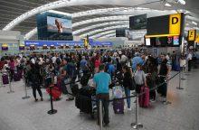 Kova su terorizmu: Europos oro uostuose – melo detektoriai