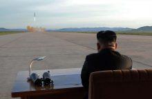 Šiaurės Korėja: sankcijos tik paspartins branduolinę programą