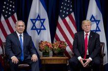 Izraelyje atidaryta pirmoji bendra su JAV karinė bazė
