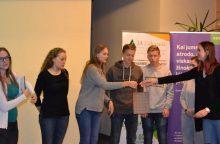 Dešimtokė iš Karmėlavos pristatė neįprastą verslo idėją