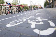 Vilniuje dėl dviračių varžybų ribojamas eismas