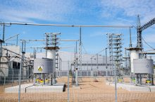 Pratęstas elektros jungties su Švedija remontas