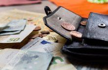 Tyrimas: beveik pusė lietuvių negalėtų giminaičiui ar draugui paskolinti nė euro