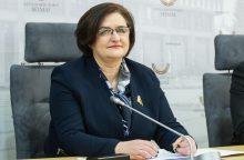 L. Graužinienė ragina K. Komskį trauktis iš Seimo vicepirmininko pareigų