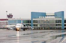 Melagingai pranešta, kad Vilniuje leisis užminuotas lėktuvas