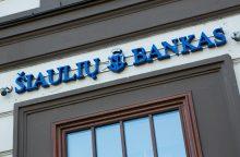 Europos investicijų fondas ir Šiaulių bankas verslui paskolins 25 mln. eurų