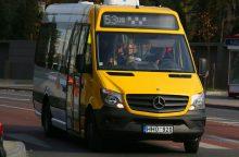 Kaune atnaujinama dalis mikroautobusų maršrutų trasų <span style=color:red;>(žemėlapiai)</span>