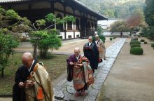 Du kauniečio mėnesiai legendiniame Sogenji vienuolyne