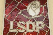 Į LSDP pirmininkus pretenduos trys kandidatai