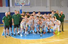 Europos aštuoniolikmečių krepšinio čempionatas vyks prieš Kalėdas