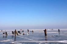 Įsigaliojo draudimas lipti ant Kuršių marių ledo