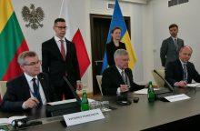 Lenkijos parlamento vadovas nesidomėjo nelietuviškų pavardžių rašyba