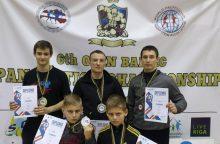6-ajame Baltijos pankrationo čempionate – lietuvių medaliai